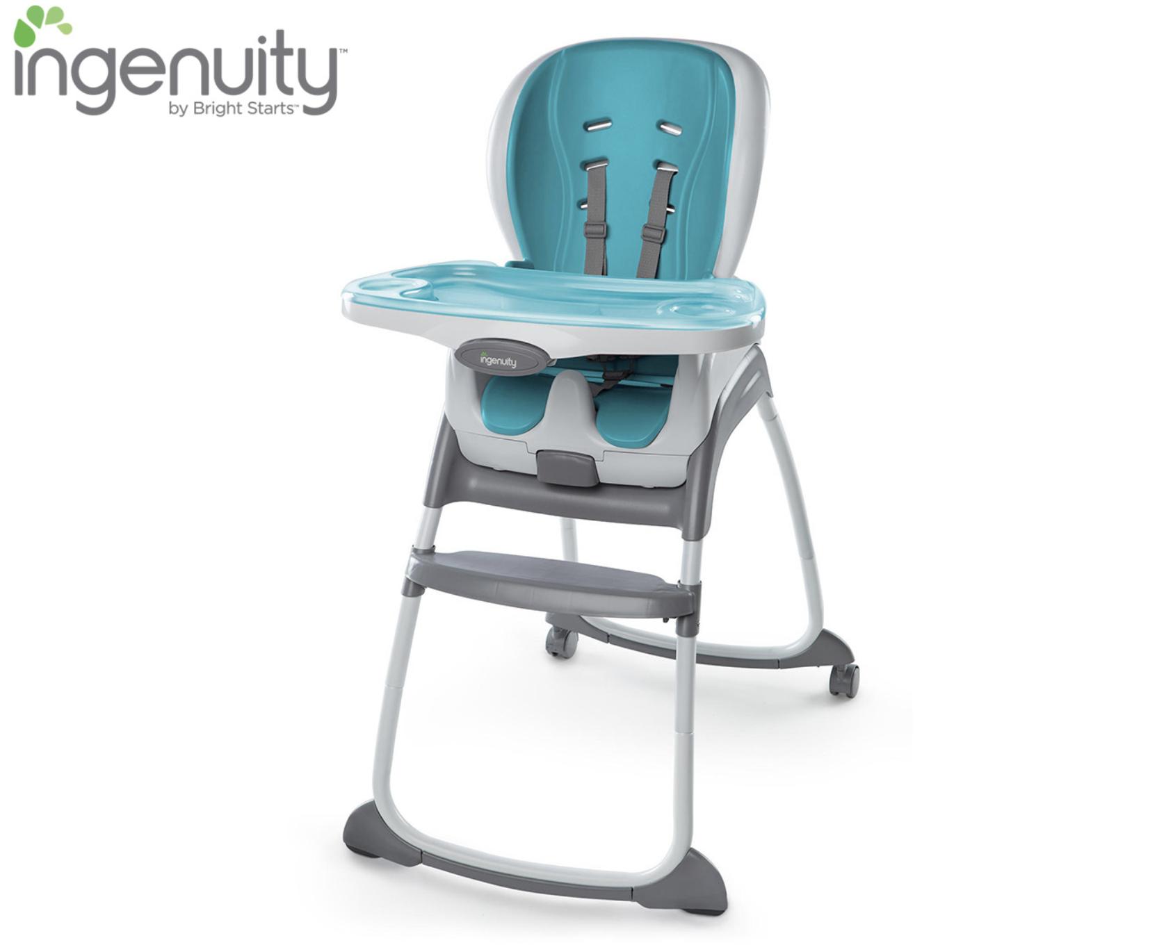 Chaise haute évolutive 3 en 1 AQUA – INGENUITY