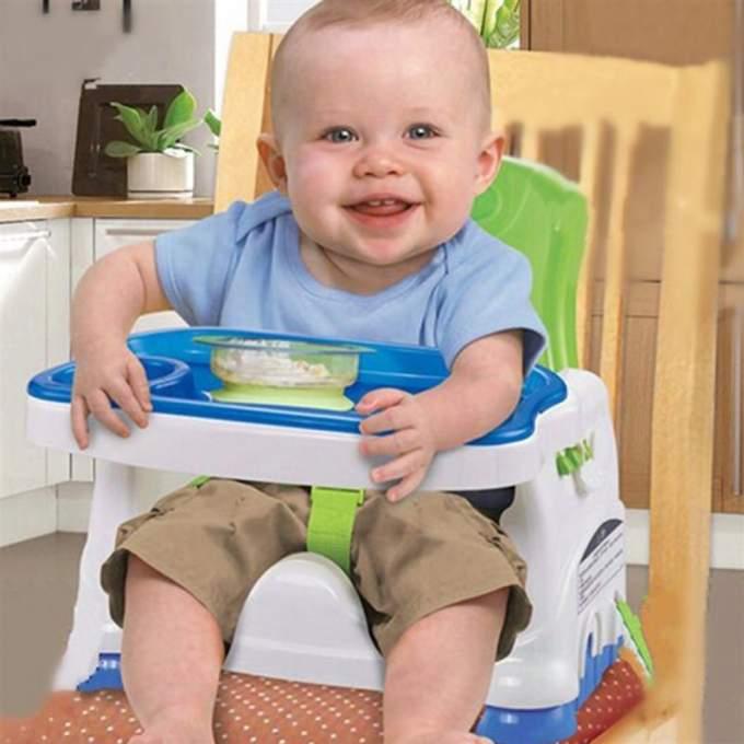 Rehausseur de table Bébé pliable - كرسي الطعام المحمول للأطفال