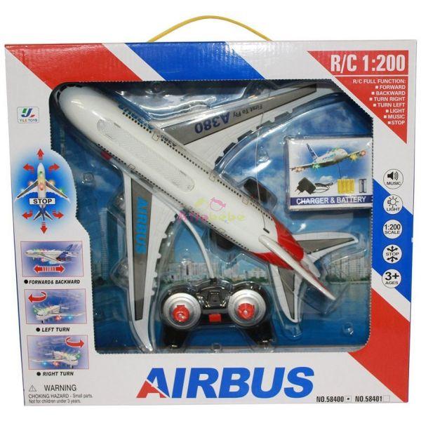 Avion Téléguidé Airbus A380 R/C 1:200