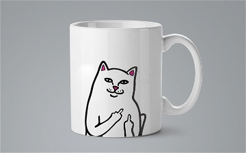 Mug / Tasse - Bad cat