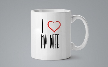 Mug / Tasse - I love my wife