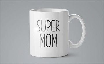 Mug / Tasse - Super mom