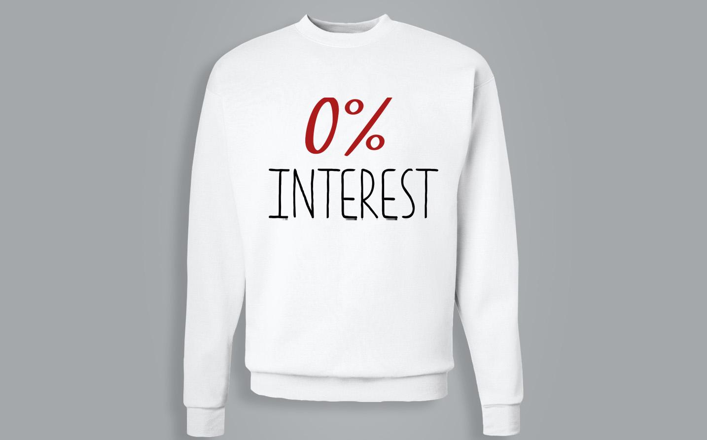 Sweat-shirt / Pull - 0% Interest