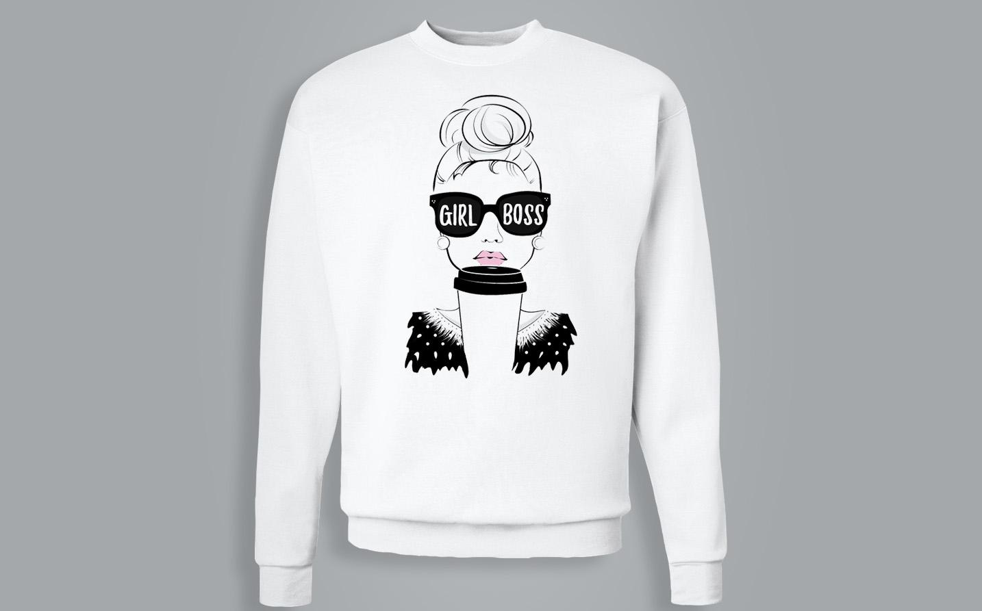 Sweat-shirt / Pull - Girl Boss