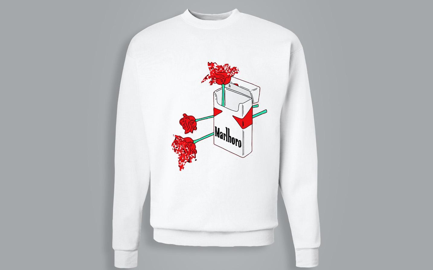 Sweat-shirt / Pull - Marlboro