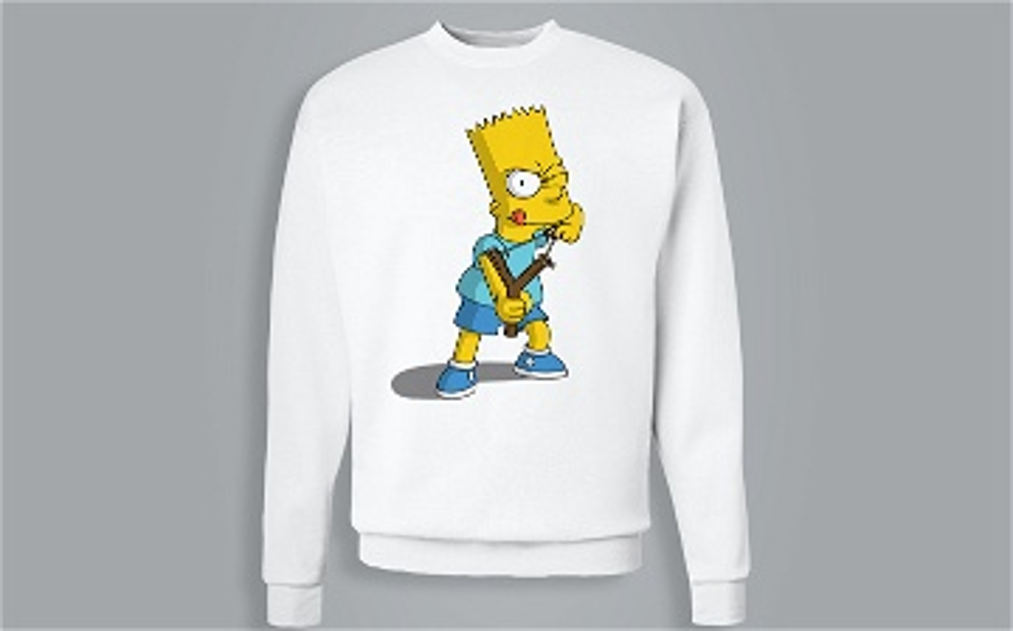 Sweat-shirt / Pull - Bart Simpson