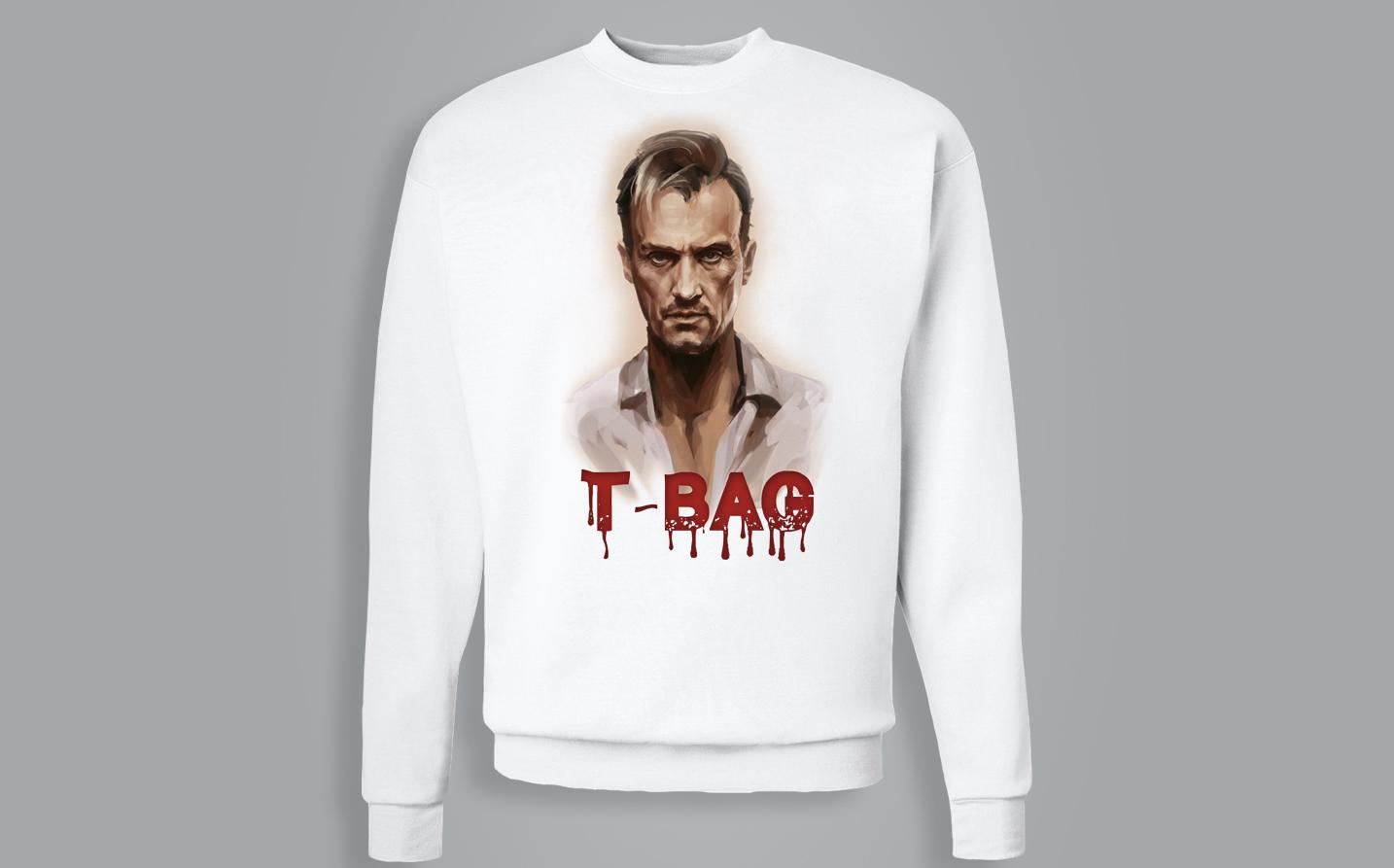 Sweat-shirt / Pull - T-bag ( Prison Break )