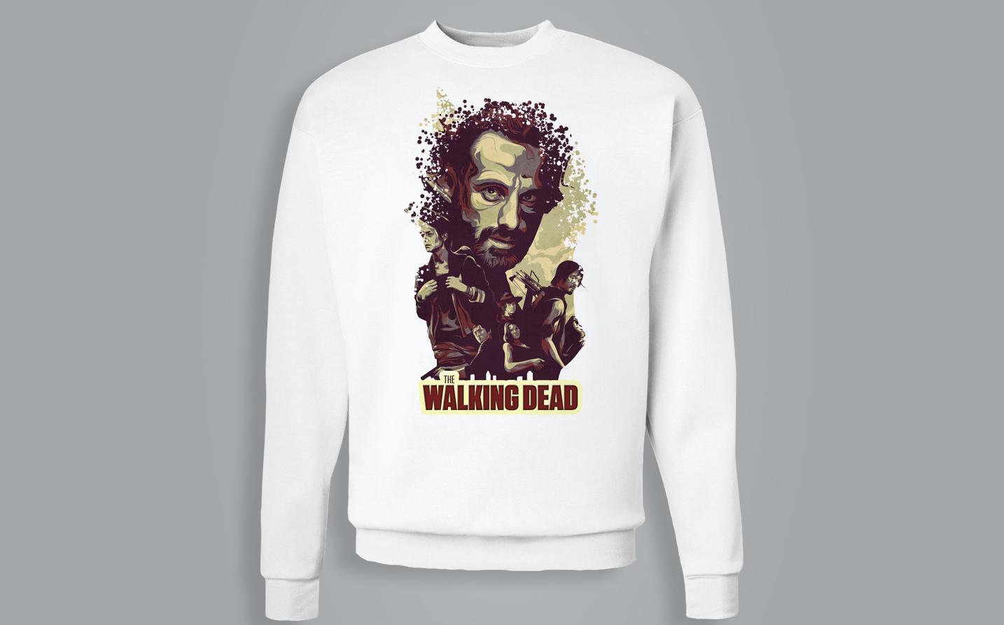 Sweat-shirt / Pull - The walking dead