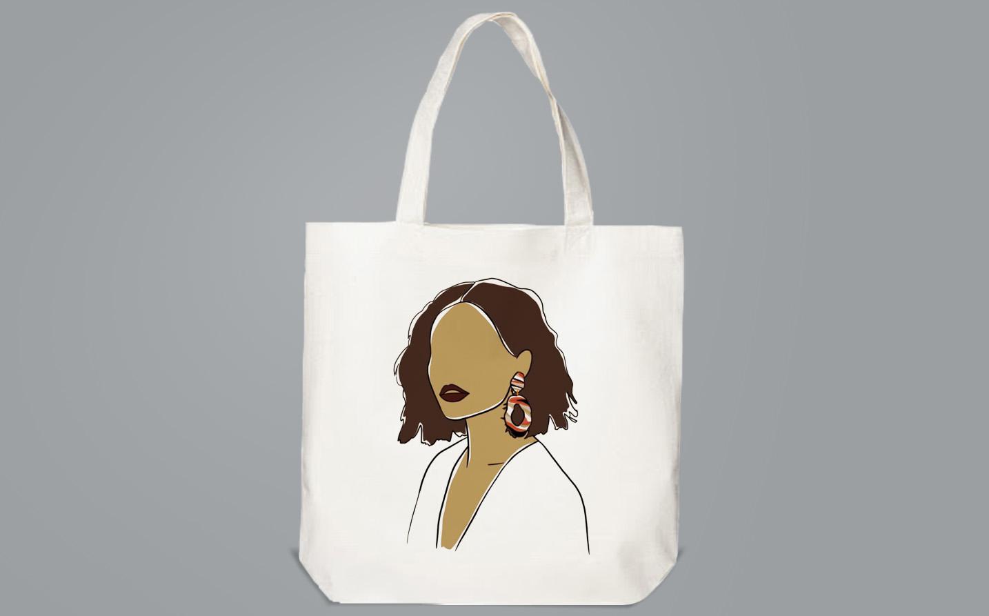 Bag / Sachet - Ebony girl