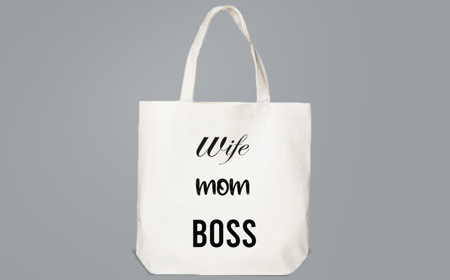 Bag / Sachet - Wife|Mom|Boss