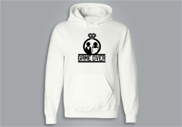 SWEAT À CAPUCHE / HOODIE -  GAME OVER