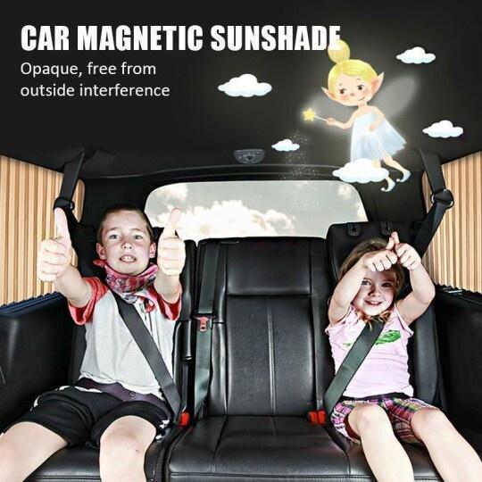 Pare-soleil magnétique de voiture