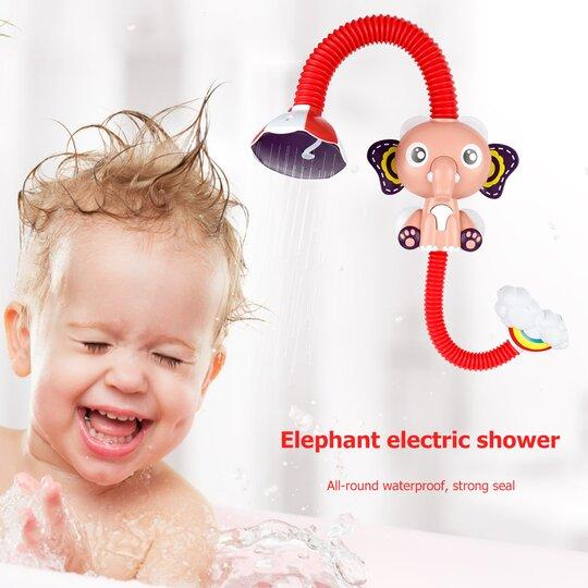 Elephant electric shower