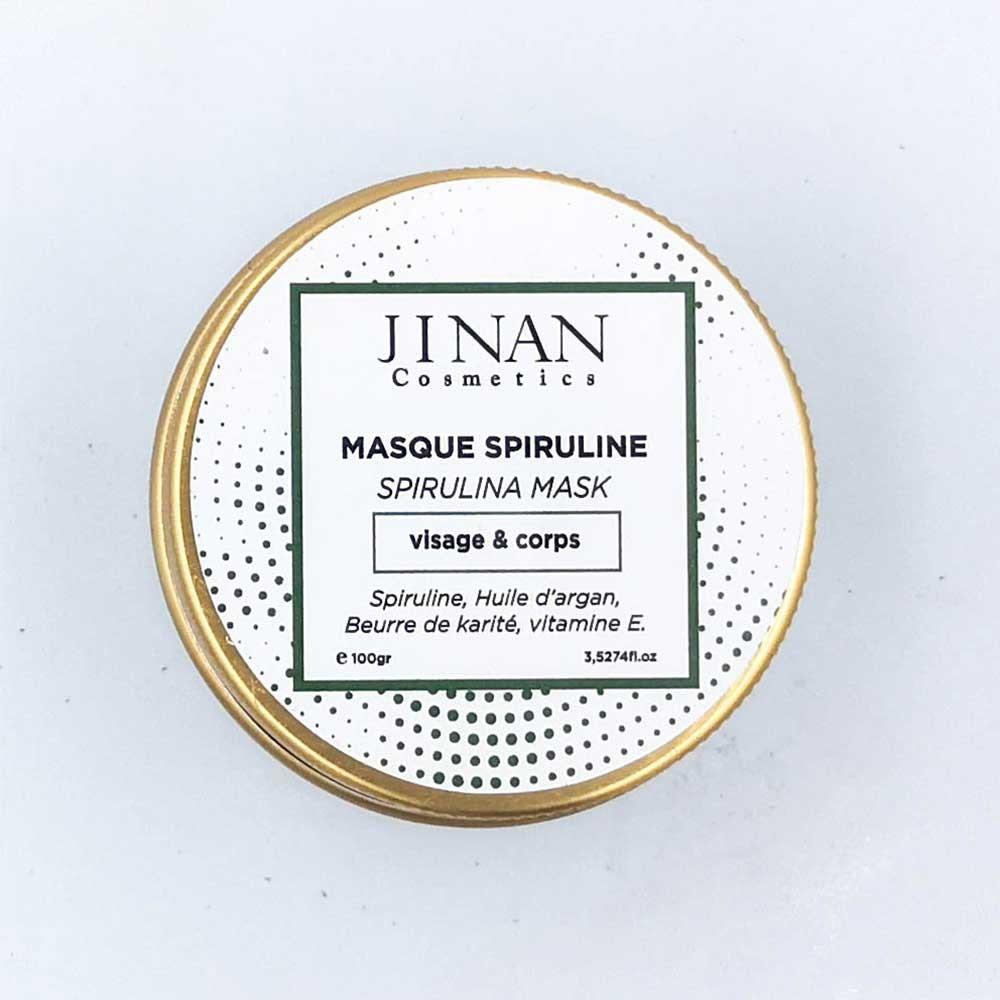 masque spiruline (ماسك الطحالب البحرية)