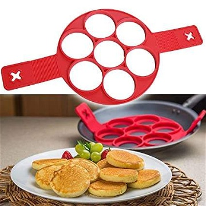 قالب سيليكون لصنع أشكال من البيض والفطائر - Moule en silicone pour la fabrication de formes d'oeufs
