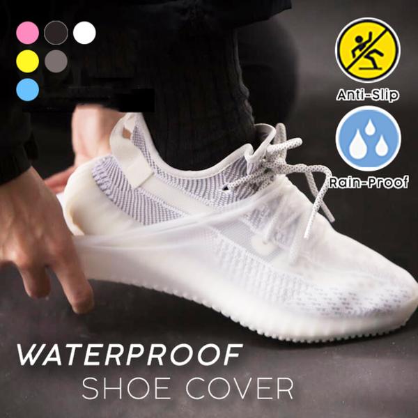 Couvre-chaussures imperméable en Silicone transparent